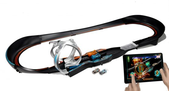 Mattel's Hot Wheels Augmoto AR is a frantic and fun new way to race
