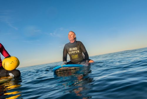 Apple Highlights How iPhone Allows Blind Veteran and Surfboarder Scott Leason to Live Independently