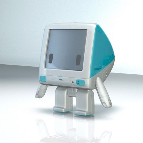 Designer Brings iMac G3 to Life With Cute iBot G3 Toy