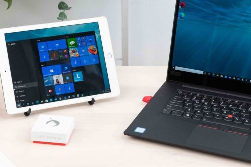 Use your iPad as a second PC screen with the updated Luna Display