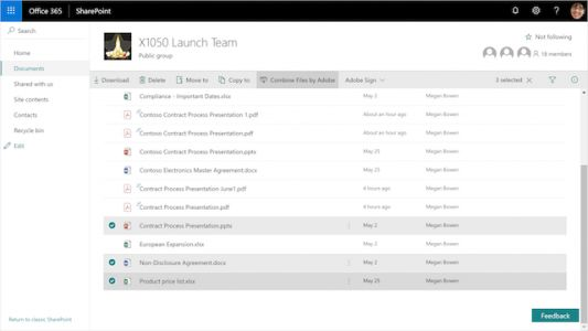 Adobe Brings Enhanced Document Cloud Integration With Office 365