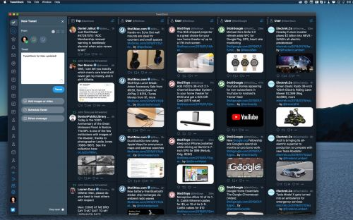 TweetDeck for Mac updated with support for Dark Mode, rebuilt to help 'fix many crashes'