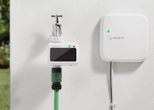 CloudRain Smart Garden Irrigation System With Smartphone App