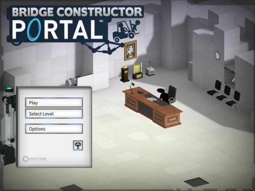 Bridge Constructor Portal review: It's like a new Portal game. well, kind of