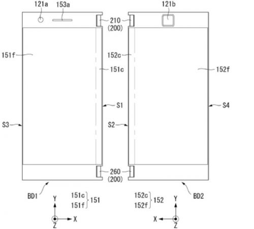 LG Patents Foldable Phone With Two Batteries & 3.5mm Jacks