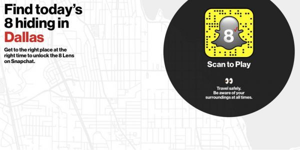 Verizon creates AR-based scavenger hunt for free iPhone 8 in eight U.S. cities, today only