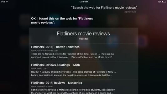 Siri and Spotlight will now use Google, not Bing, for Web searches