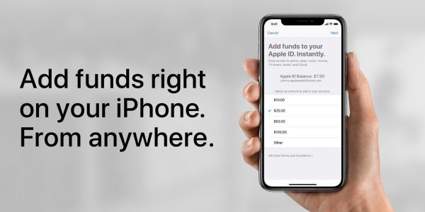 Apple offering up to $20 bonus for adding funds to Apple ID in App Store promo