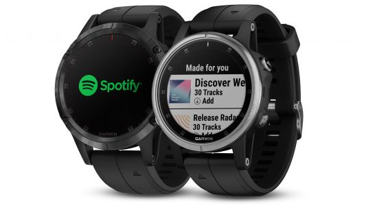 Spotify is now on some Garmin running watches