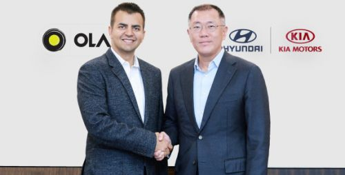 Ola bags $300 million from Hyundai and Kia for mobility solutions and electric vehicles