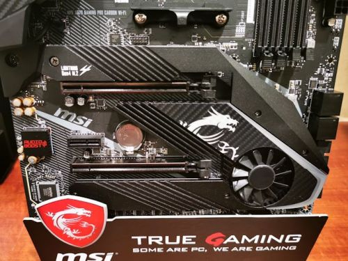 The MSI MPG X570 Gaming Pro Carbon WIFI Motherboard: Two PCIe 4.0 M.2, Wi-Fi 6