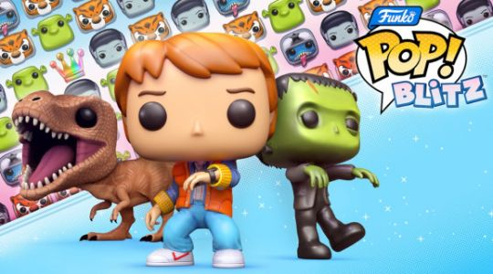 Funko Pop! Blitz takes Universal franchises to match-3 mobile game
