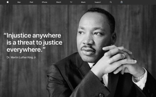 Apple and Tim Cook Commemorate Dr. Martin Luther King, Jr