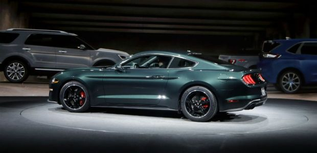 Ford Announces Limited Edition 2019 Mustang Bullitt