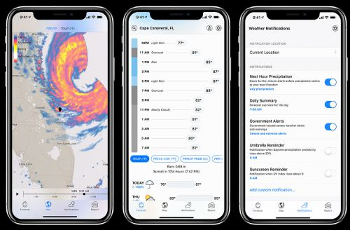 Best Hyperlocal Weather Forecasts for Android and iPhone
