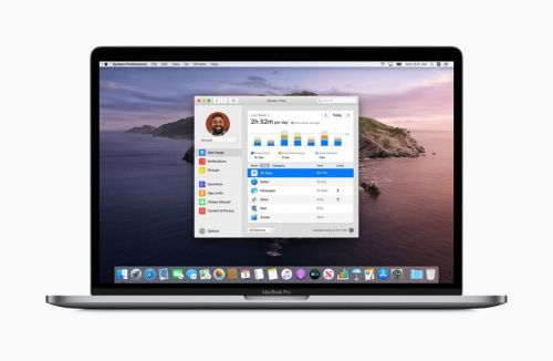 Using Screen Time on macOS Catalina