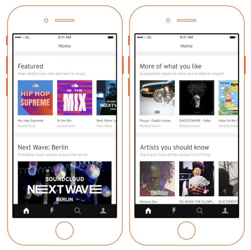 SoundCloud Debuts New Home Experience Focusing on Personalized Music Curation