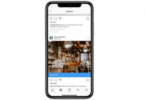 Instagram's Explore Page Will Now Show Ads