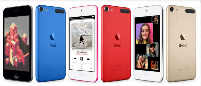 Apple's Rumored iPod Touch Refresh Finally Arrives