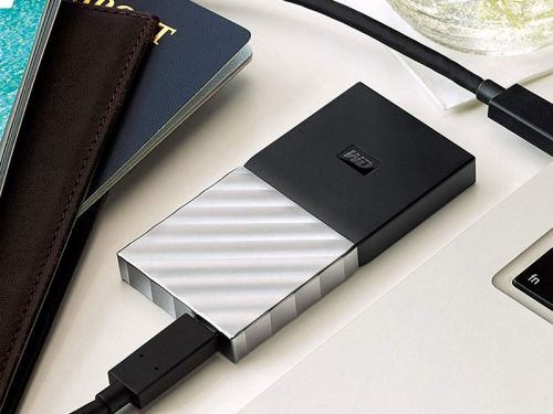 Take almost $50 off the WD My Passport 2TB portable SSD