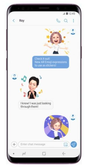 Samsung Doubles Number Of Available AR Emoji On Galaxy S9