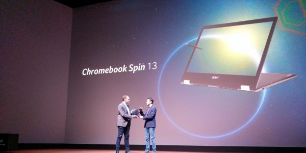 Acer takes on Pixelbook w/ aluminum, 8th-gen Intel Chromebook 13 & Chromebook Spin 13