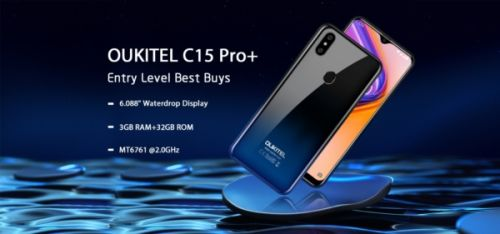 OUKITEL C15 Pro+ Coming In Early July With A $74.99 Price Tag