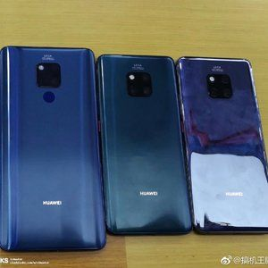Huawei Mate 20, Mate 20 Pro, and Mate 20 X get compared in dummy unit leak