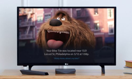 Tile and Comcast now let you find lost items through voice search on your TV