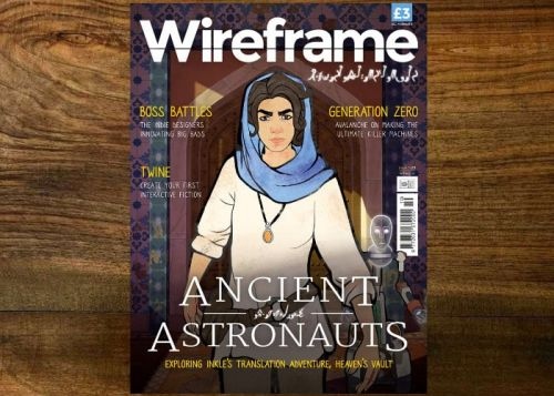Wireframe gaming magazine issue 10 now available