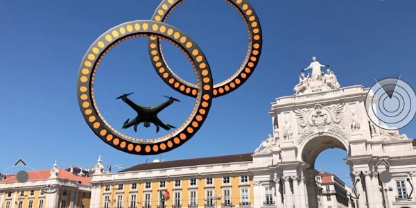 Realistic AR drone simulator is fun today, could signal the start of much more