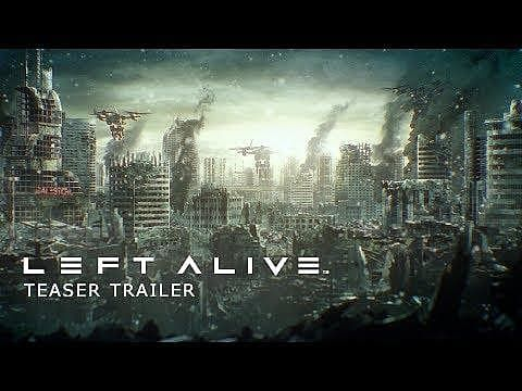 Square Enix Announces Left Alive at Tokyo Game Show