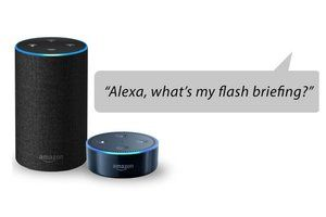 Alexa adds long-form news delivery service for Echo devices to its flash briefing skills