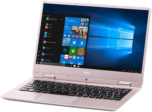"""NEC 2018 LaVie Note Mobile: Fanless 12.5"""" Core i7 with 12hr Battery, Under 2 Lbs"""