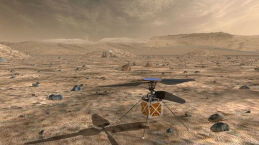 A helicopter for Mars and four other audacious concepts for space exploration
