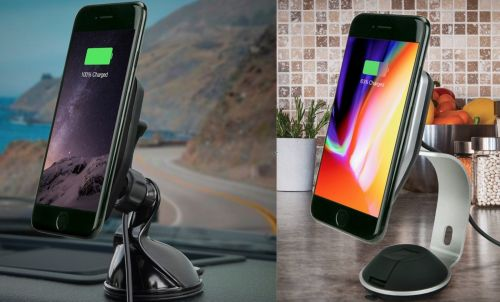 Scosche unveils new line of MagicMount wireless charging docks for iPhone 8/Plus/X