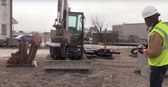 First-person digger: Stanley Black & Decker's game controller for excavators