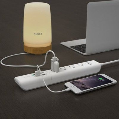Plug all your devices into this discounted $12 Aukey Power Strip