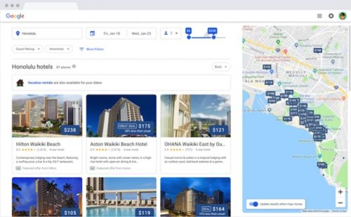 Google's Redesigned Hotel Search Experience Arrives On Desktop