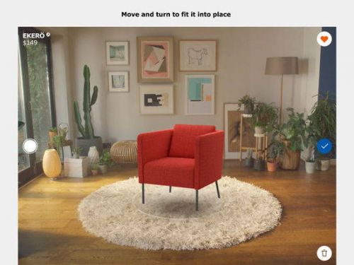 IKEA's Augmented Reality iOS App Now Available For Download