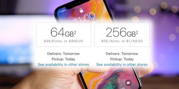 US Apple Online Store now offers next-day delivery on all iPhone X models