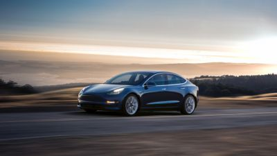 Pared-down electric experience: Driving one of the first Model 3s off the line