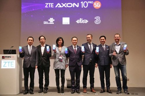 ZTE Axon 10 Pro 5G launched in Europe
