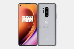 Leaked live photo shows the OnePlus 8 Pro's back panel