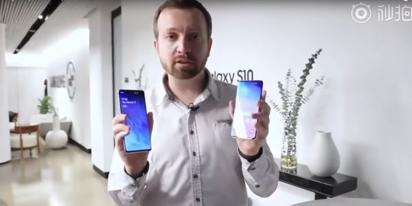 Samsung Galaxy S10 early hands-on video leaks confirming most of what we already know