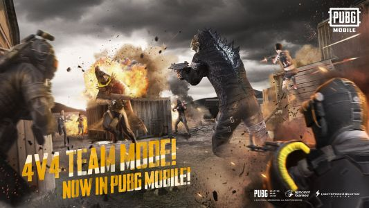 PUBG Mobile 0.13.0 update goes live with Team Deathmatch and Godzilla theme
