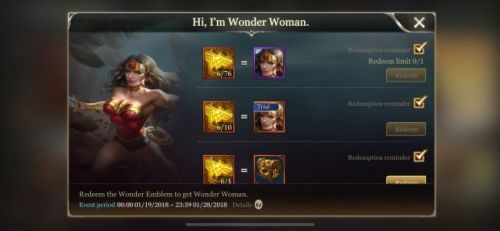 Here's How to Unlock Wonder Woman in 'Arena of Valor' Right Now