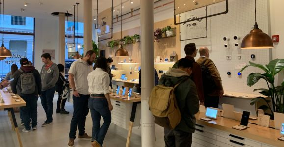 Take a step inside the 'Google Hardware Store' pop-up in SoHo New York