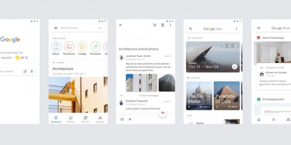 Google Material demo reel shows off revamped Gmail, Drive on mobile, Google Photos on web