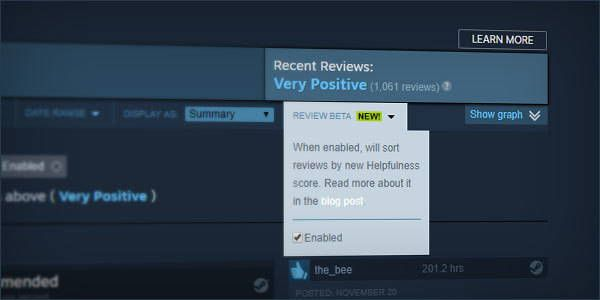 Steam's Review System Will Be Overhauled To Fight Spam
